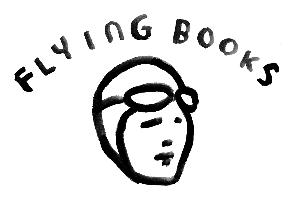 FlyingBooks logo with link to website