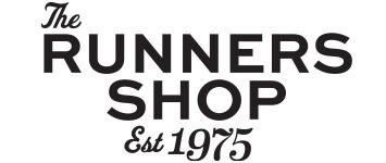 The Runners Shop logo with link to website